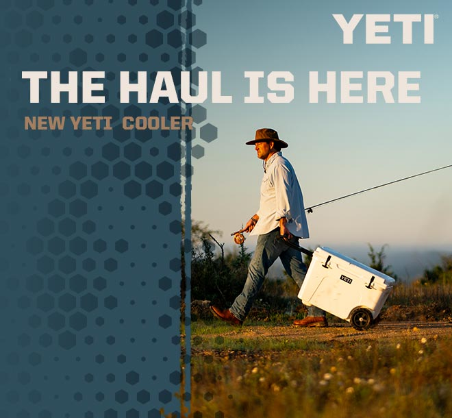 New YETI Haul Cooler
