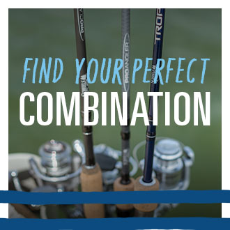 Find Your Perfect Combination, Image of Fishing Rods and Reels