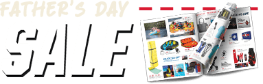 Father's Day Sale Event and Ad Flyer