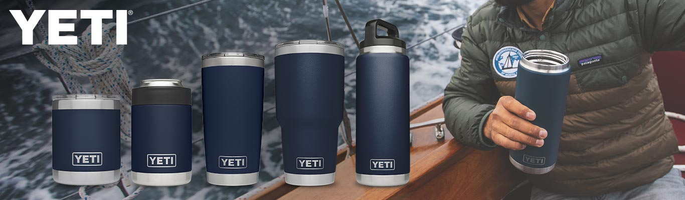 All New YETI Navy Collection