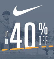 Up to 40% off Nike