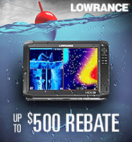 Up to $500 Rebate Lowrance
