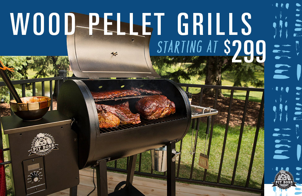 Wood Pellet Grills Starting at $299, Image of Pitboss grill