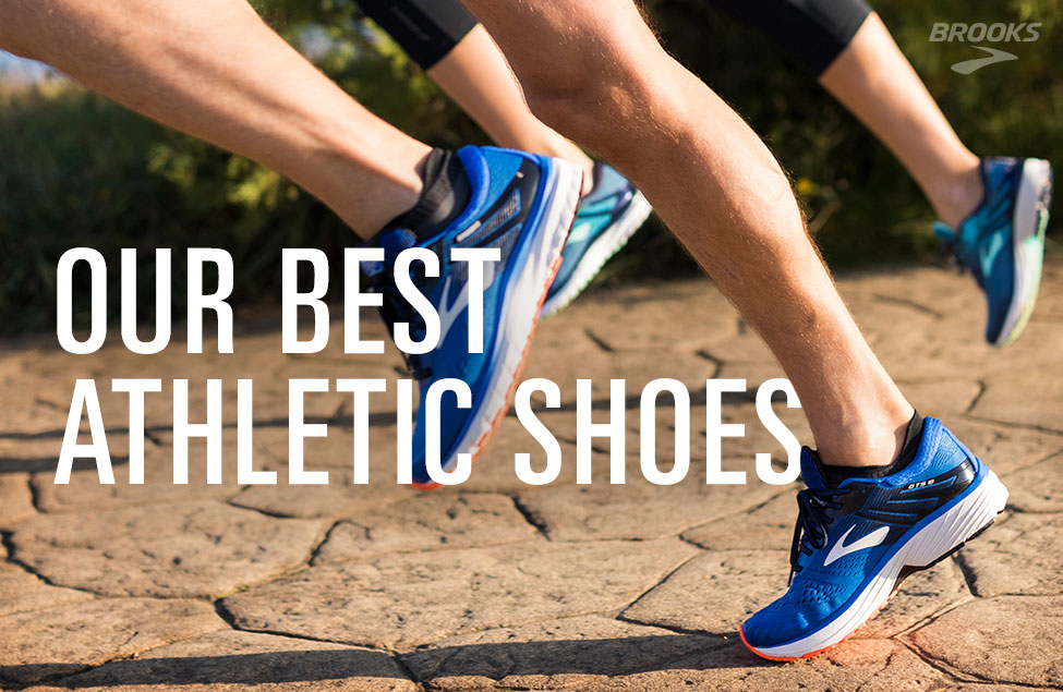 Our Best Athletic Shoes, Image of Runners Wearing Brooks Footwear