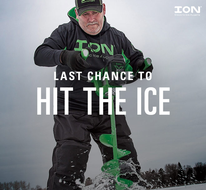 Last Chance to Hit the Ice   Image by ION Electric Augers