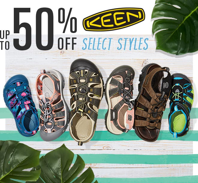 up to 50% Off Select Styles, KEEN Sandals